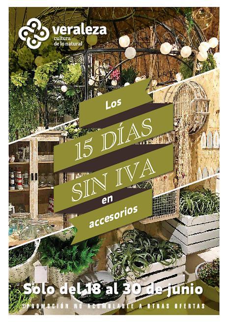 15 días sin IVA en Veraleza